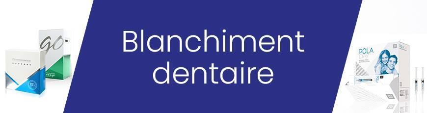 Systèmes de blanchiment dentaire à domicile et au cabinet